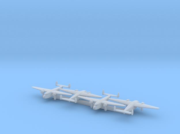 DH.95 w/Gear x4 (WW2) in Smooth Fine Detail Plastic: 1:700