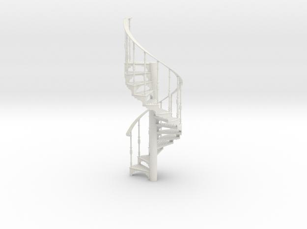 S-12-spiral-stairs-market-1b in White Natural Versatile Plastic