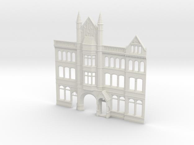 Yorkshire Post building in White Natural Versatile Plastic