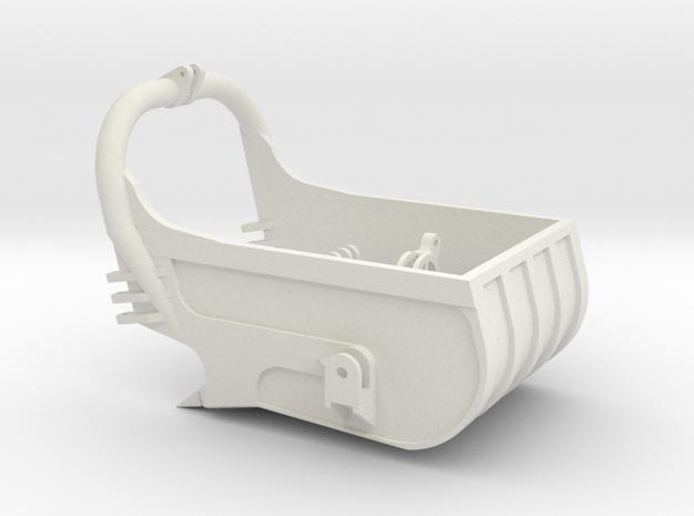 dragline bucket 5cuyd - scale 1/50 in White Natural Versatile Plastic