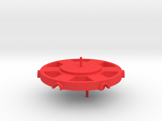 A Radial Engine 3d printed