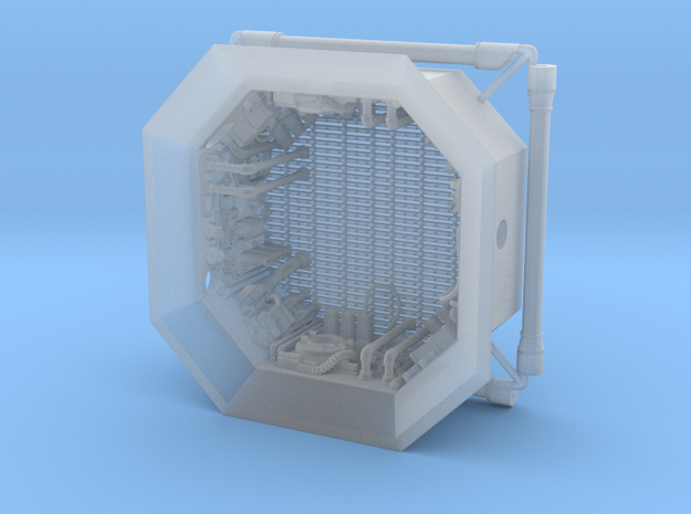 DeAgo Falcon Hold - Maintenance Pit in Smooth Fine Detail Plastic