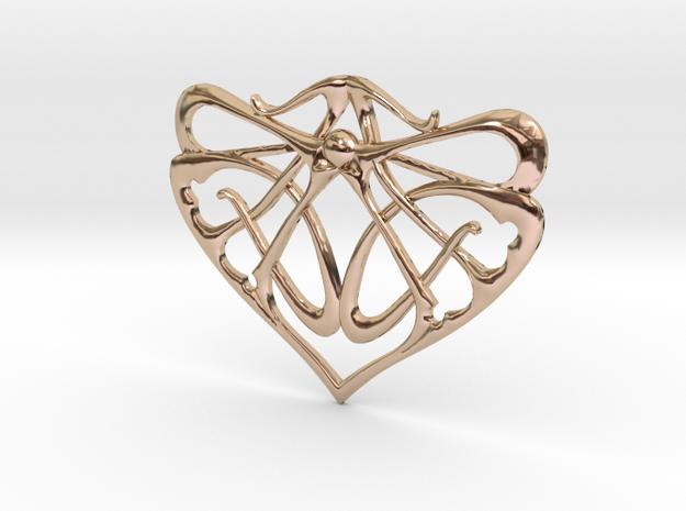 Art Nouveau Inspired Pendant