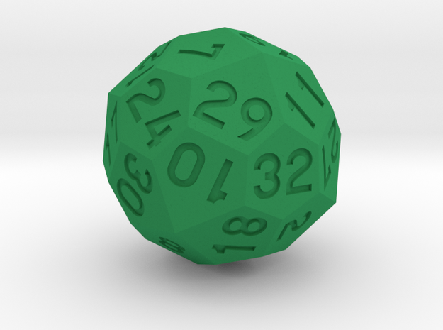 d32 v2 in Green Processed Versatile Plastic