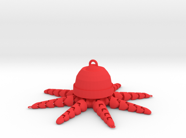 JellyFish Killer Bait  in Red Processed Versatile Plastic