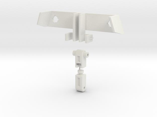 "TFC Uranos Backpack upgrade ""Echo"" kit--rev5 in White Natural Versatile Plastic"