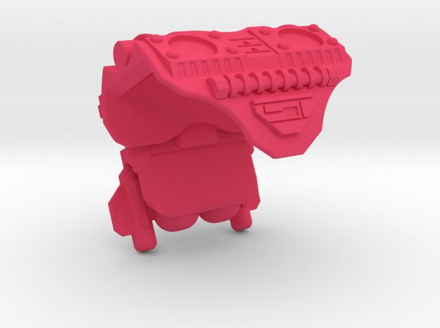 Kung-Los Battle Armor  in Pink Processed Versatile Plastic