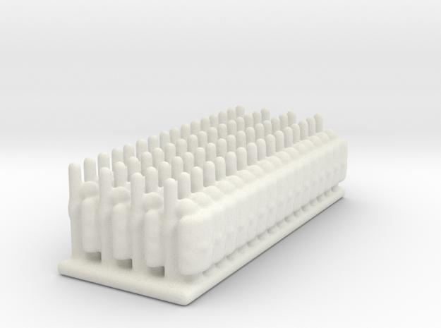 4x16 6mm roman legionary in White Natural Versatile Plastic