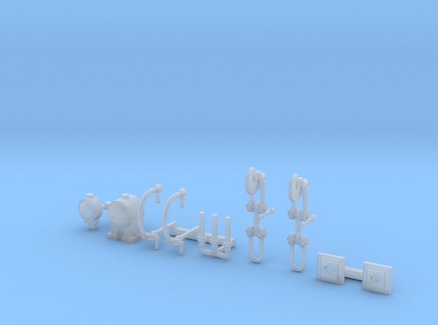 OO Scale Detail Pack in Smoothest Fine Detail Plastic