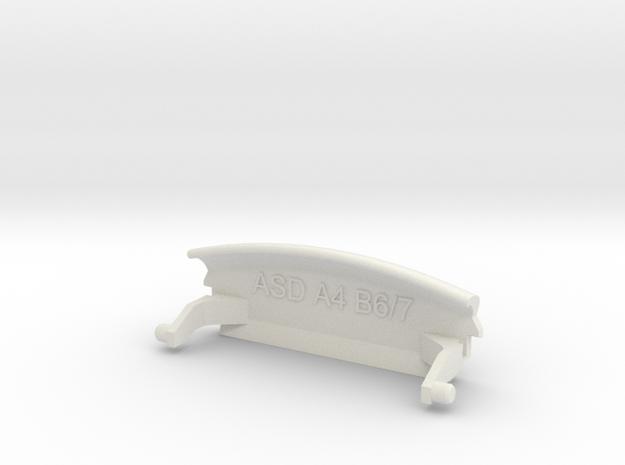 Audi A4 B6 Mittelarmlehne/Armrest lid Standart/IMA in White Natural Versatile Plastic