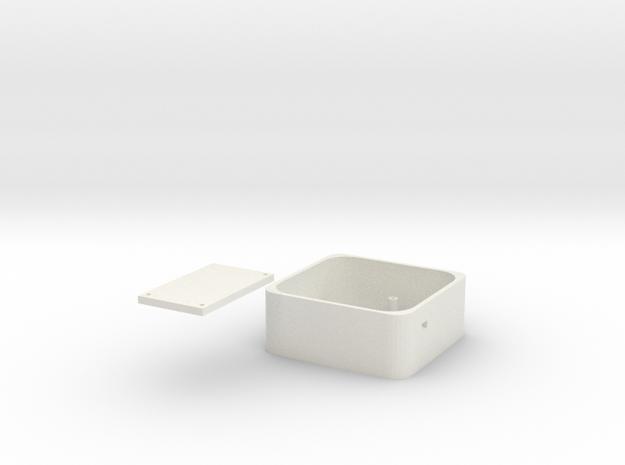 Longboard Control Box in White Strong & Flexible