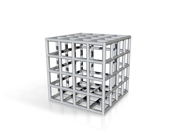 Square cage 3d printed