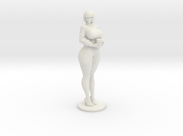 Velma V3 plastic ( with futa variants ) in White Natural Versatile Plastic: d3