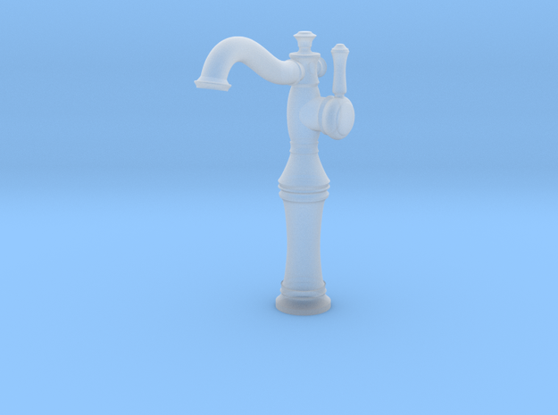 Vessel Faucet  in Smooth Fine Detail Plastic