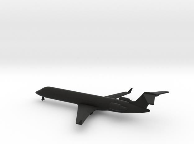 Bombardier CRJ700 in Black Natural Versatile Plastic: 1:350