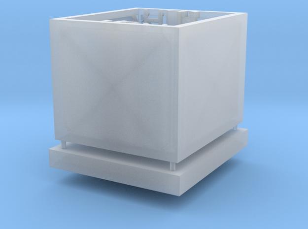 Aufzug Dach und Schacht / Grube in Smooth Fine Detail Plastic