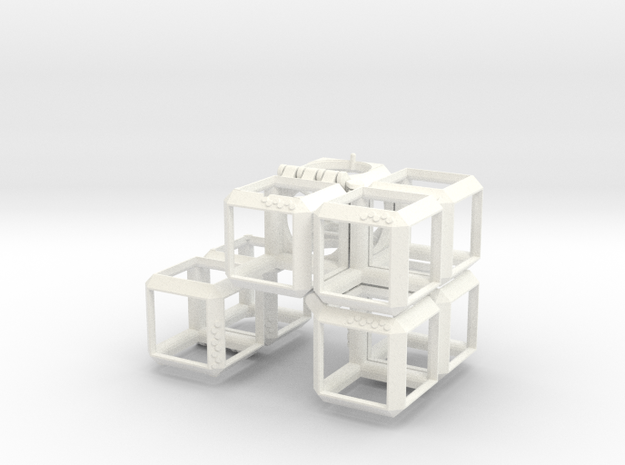 PUZZLE 3d-Puzzle (2 inches) 3d printed