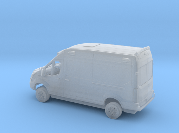 1/148  2018 Ford Transit Right H.Dr. Ambulance Kit in Smooth Fine Detail Plastic