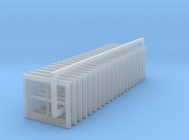 4 Pane Barn Window 24x30 (20) in Smooth Fine Detail Plastic