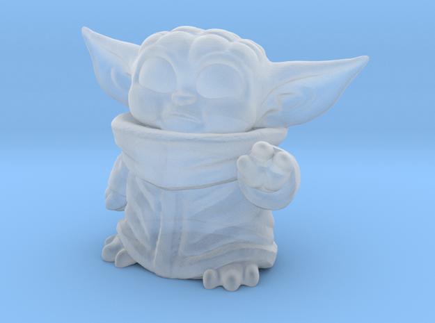 chibi alien child in Smooth Fine Detail Plastic