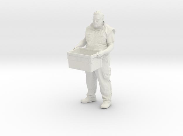 Marcel A in White Natural Versatile Plastic: 1:25