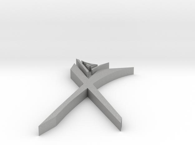 maze.scissors breast jewelry in Aluminum
