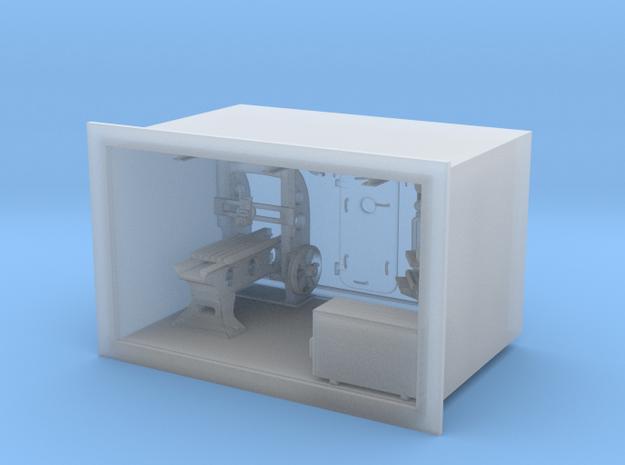 Machine room / workshop in Smooth Fine Detail Plastic: 1:75