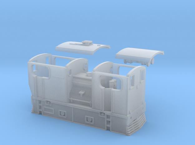 N Gauge Y10 LNER Sentinel Shunter in Smoothest Fine Detail Plastic