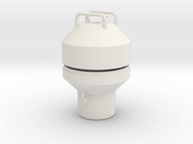 Mooring Buoy Typ 4 in White Natural Versatile Plastic: 1:25