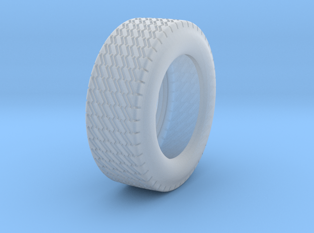 INDY CAR TIRE - FRONT REV 3 in Smoothest Fine Detail Plastic