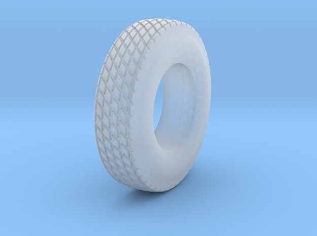 DIRT TRACK TIRE - REAR REV 1  07-14 -2020 in Smoothest Fine Detail Plastic