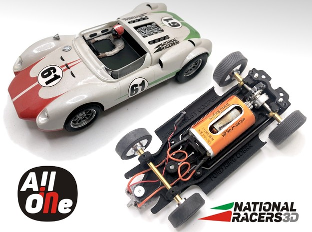 Chassis MRRC SHELBY FORD KING COBRA(AiO In) in Black PA12