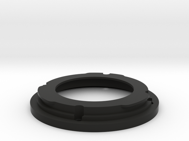 Minolta MD to EOS EF Mount for 35-70 f/3.5 in Black Natural Versatile Plastic
