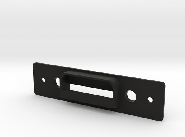 Traverse Moonroof Latch - Wide (rev 2) in Black Natural Versatile Plastic