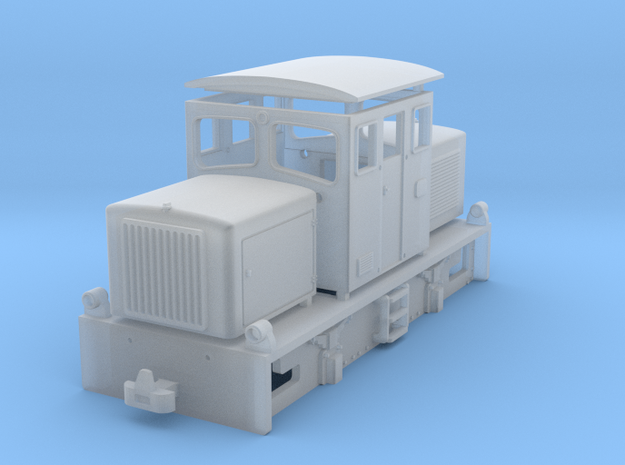 Freelance diesel shunter type-1 in Smoothest Fine Detail Plastic