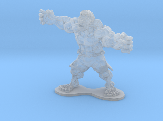 HulkInsane in Smooth Fine Detail Plastic