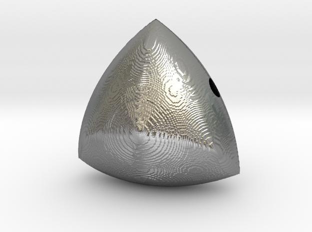 Tridentix in Natural Silver