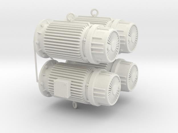 engine dummy Typ A in White Natural Versatile Plastic