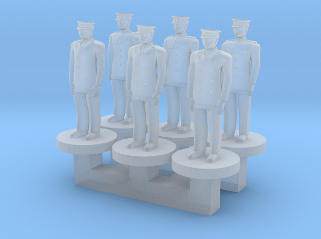 Leaders: Admirals in Smooth Fine Detail Plastic