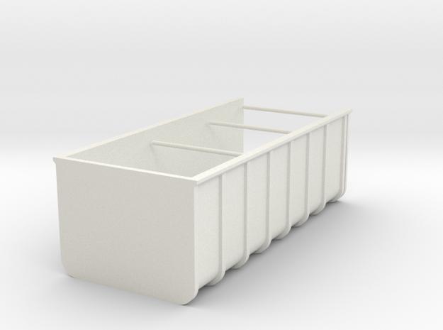 High trough _H37_W49,8_L112,1 1:50th in White Natural Versatile Plastic
