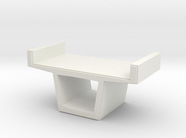Concrete Viaduct 1/64 in White Natural Versatile Plastic