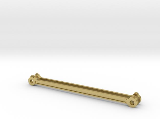 Koppelstangen NS 2100 in Natural Brass