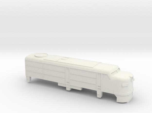 Alco FA-1 Shell T Scale in White Natural Versatile Plastic