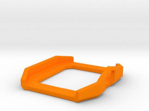 Casio CA53W-1 Watch Surround in Orange Processed Versatile Plastic
