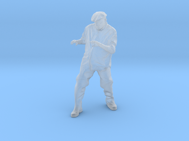 Raftsman 3 in Smooth Fine Detail Plastic: 1:75
