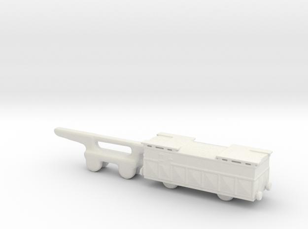 shell wagon 1/144 alvf in White Natural Versatile Plastic