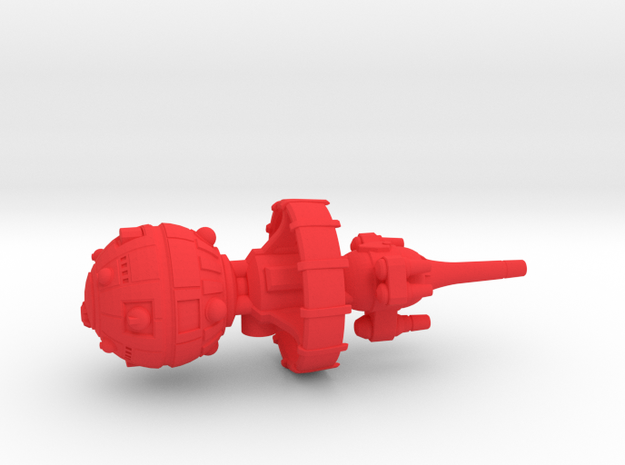 Belter Attack Cruiser v2 3d printed