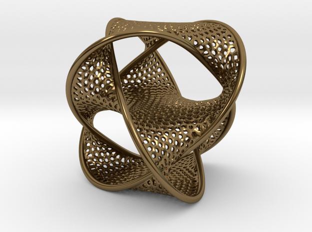 Borrometal (fine hexagonal mesh) 3d printed