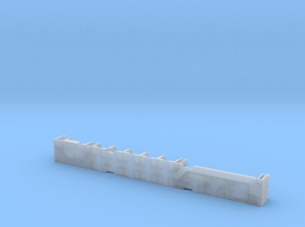 Pullman 10-1-1 Sleeper (Plan 3973C) - Interior in Smooth Fine Detail Plastic