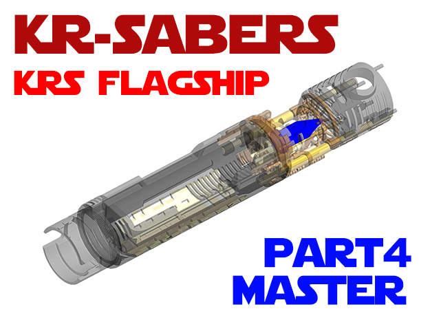KRS Flagship - Master Chassis Part4 in Smooth Fine Detail Plastic